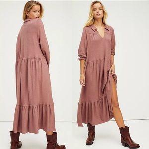 nwt // free people beach moonlight midi dress